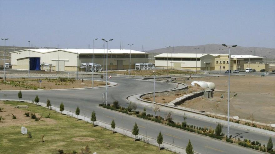 La central nuclear de Natantz, ubicada en el centro de Irán.