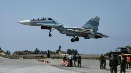Rusia despliega cazas en sur de Siria para repeler ataque israelí