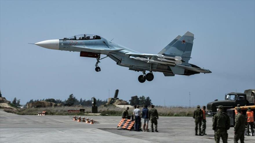 Rusia despliega cazas en sur de Siria para repeler ataque israelí   HISPANTV