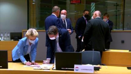 UE logra un acuerdo sobre el programa de rescate económico