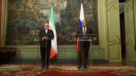 Zarif: Ni Irán ni Rusia toman en serio los comentarios de Bolton