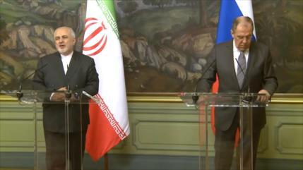 Irán y Rusia insisten en necesidad de salvar el pacto nuclear