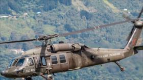 Mueren nueve militares en Colombia en un accidente de helicóptero