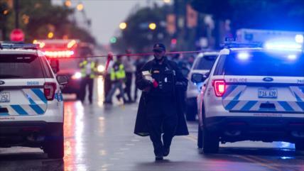 Tiroteo deja 14 heridos en Chicago, azotado por violencia armada