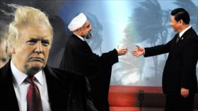 """Alianza Irán-China """"golpeó como una tormenta geopolítica"""" en EEUU"""