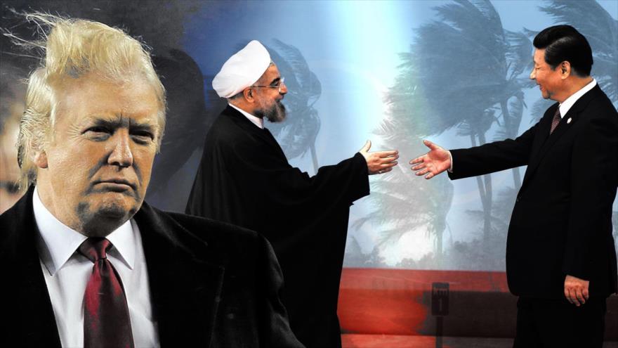 "Alianza Irán-China ""golpeó como una tormenta geopolítica"" en EEUU | HISPANTV"