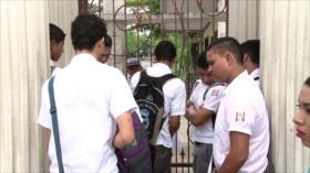 Niños hondureños sin clases por falta de internet