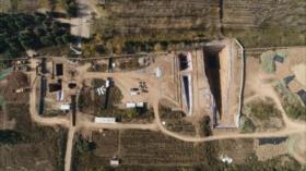 Arqueólogos chinos hallan un conjunto de tumbas de hace 2200 años