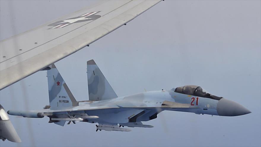 Avión espía de EEUU viola espacio sirio y se acerca a base rusa   HISPANTV