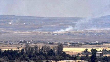 Defensa aérea de Siria ahuyenta a dron israelí en altos del Golán