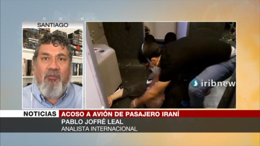 Leal: EEUU acosó al avión iraní para provocar militarmente a Irán | HISPANTV