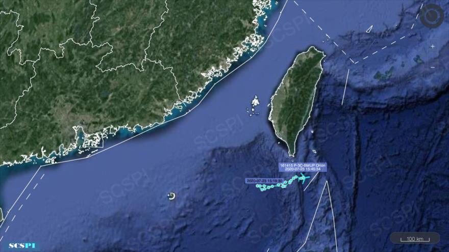 Marina china advierte a avión de EEUU: Cambia de rumbo de inmediato | HISPANTV