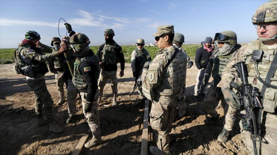 Cuatro cohetes impactan una base con fuerzas de EEUU en Irak | HISPANTV