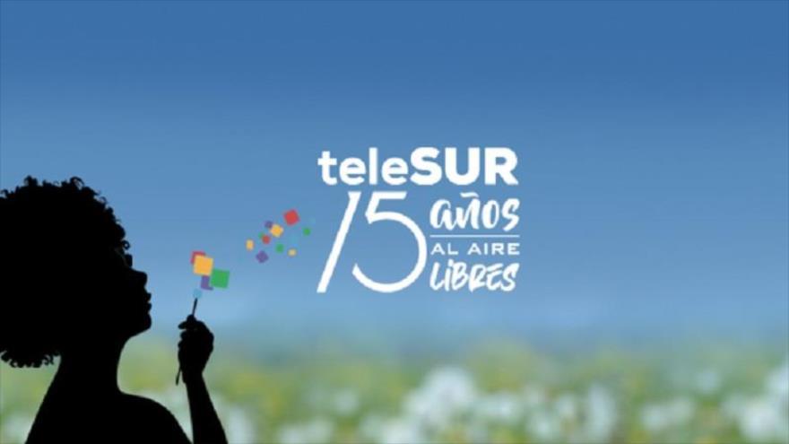 La cadena venezolana Telesur celebra su 15º aniversario