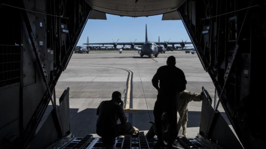 La base aérea Hurlburt Field en el estado estadounidense de Florida.