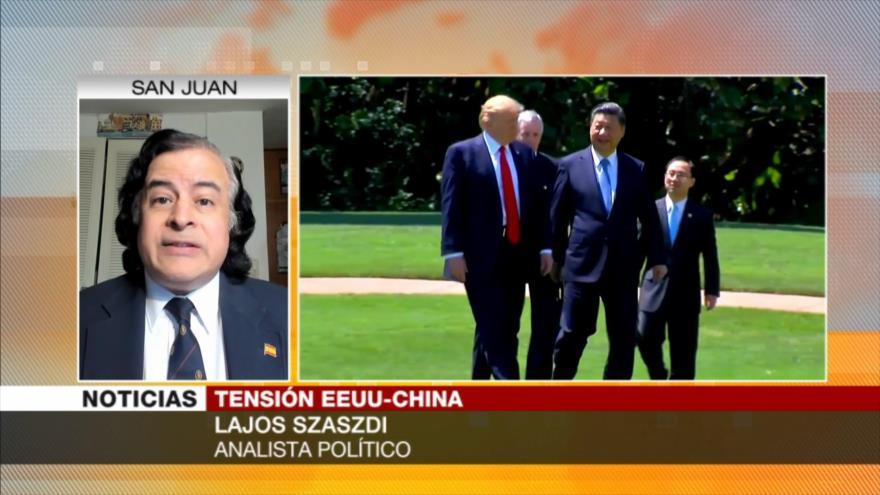 Szaszdi: EEUU es hipócrita al acusar a China de espionaje   HISPANTV