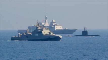 Egipto y Francia desafían a Turquía con maniobras en Mediterráneo