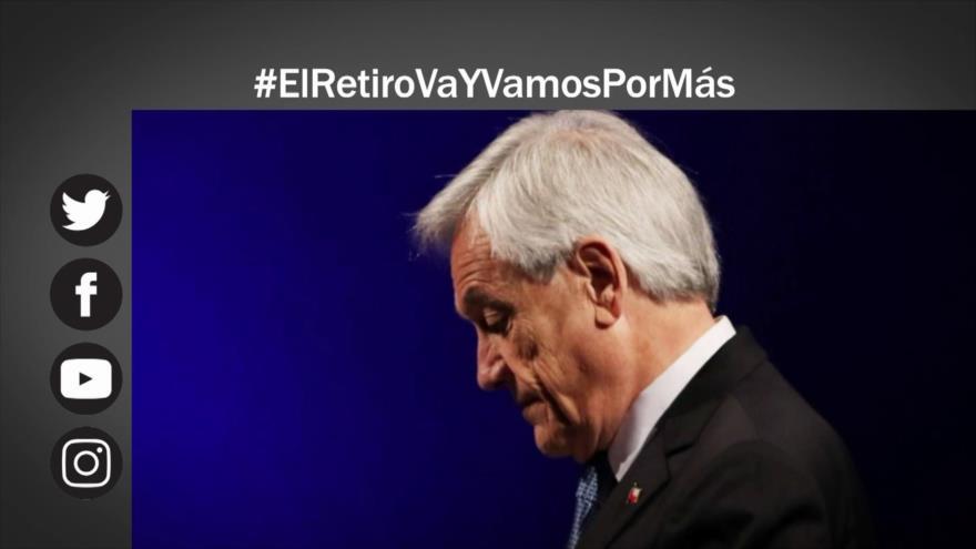 Etiquetaje: Piñera cede: promulga ley que permite retiro de fondos de AFP