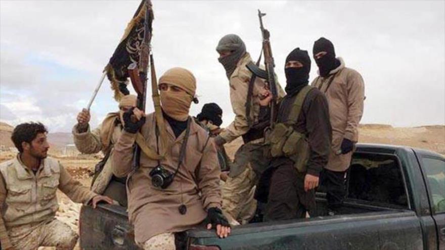 Integrantes de Al-Qaeda en Yemen.