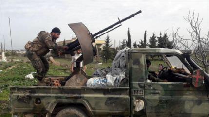 Ejército sirio lanza intensos bombardeos contra terroristas en Idlib