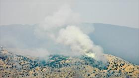 Reportan choques en frontera entre El Líbano y Palestina ocupada