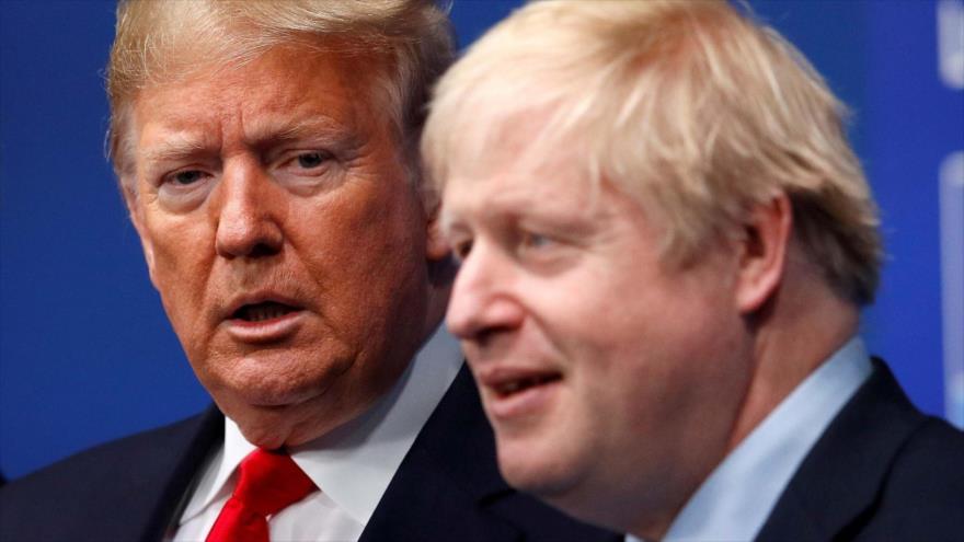 Informe: Johnson, en privado, desea que Trump pierda las elecciones   HISPANTV