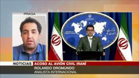 'EEUU busca acorralar a Irán incluso hostigando a su avión civil'