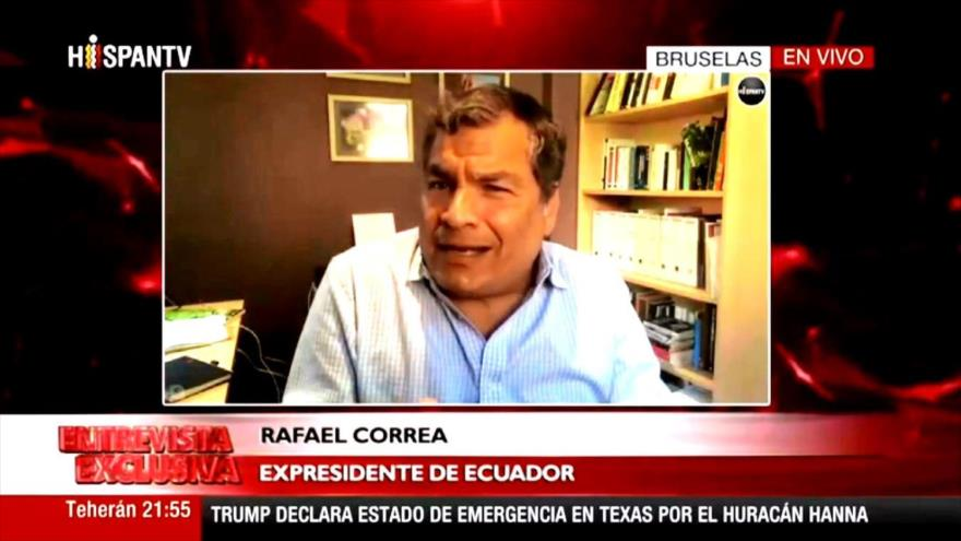 Correa: Ecuador, destrozado por la mala gestión ante la pandemia