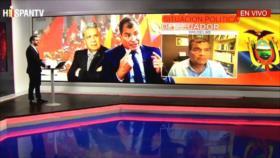 Correa a HispanTV: Nos eliminan porque saben que serán derrotados