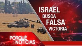 """El Porqué de las Noticias: Israel busca falsas victorias. """"Nuevo orden no occidental"""". Persecución en Ecuador y Bolivia"""