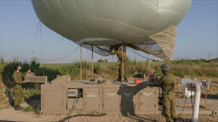 El Ejército de Siria derriba globo espía de Israel en Damasco