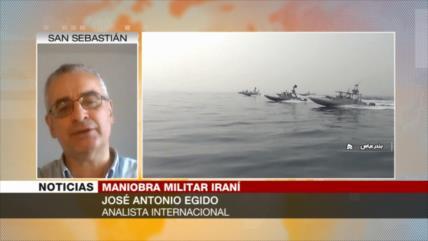 'Con sus ejercicios militares, Irán quiere enviar mensajes a EEUU'