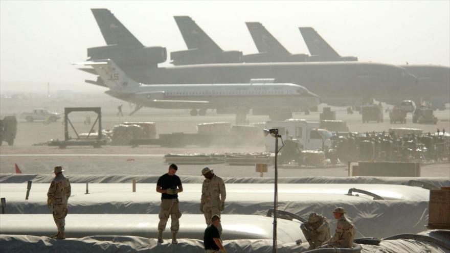 Militares dos EUA se protegem durante manobras no Irã |  HISPANTV