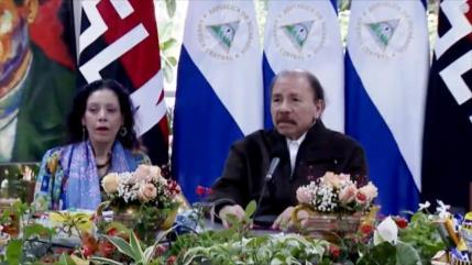 Ortega insta a eliminar el virus del capitalismo y neoliberalismo