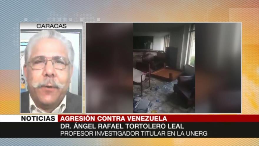 Tortolero Leal: Colombia comete acto criminal contra Venezuela | HISPANTV