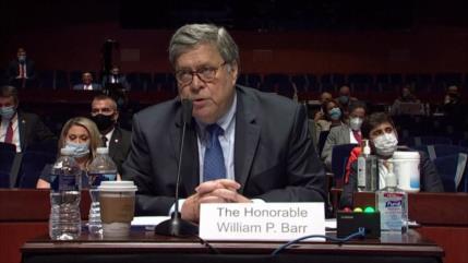 Fiscal general de EEUU defiende la represión de las protestas
