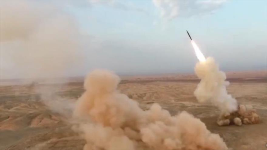 Irán lanza misiles balísticos subterráneos por primera vez en el mundo