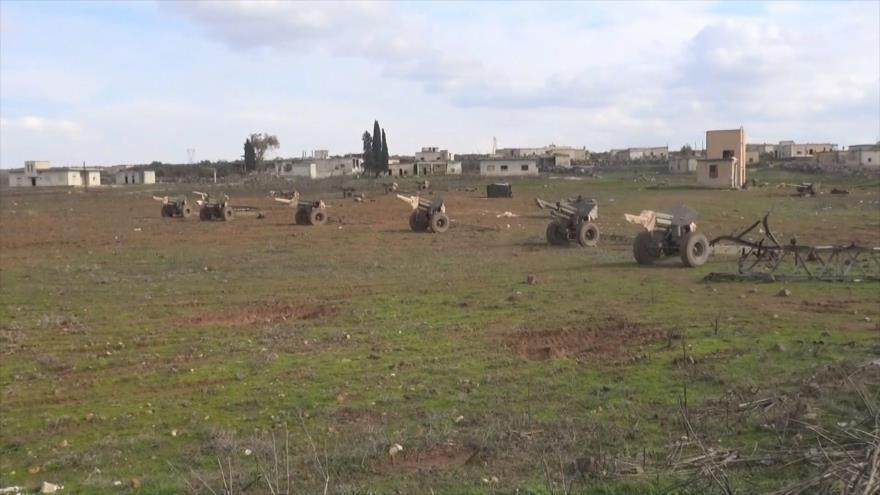 Ejército Sirio responde a agresiones de los terroristas en Idlib