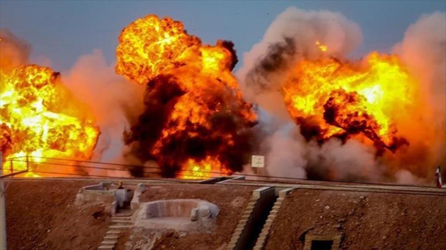 Irán realiza fase final de ejercicios militares Payambar-e Azam (El Gran Profeta) 14, 29 de julio de 2020. (Foto: Tasnim)