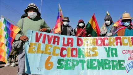 Gobierno de Áñez demanda a Morales por atentar contra salud pública