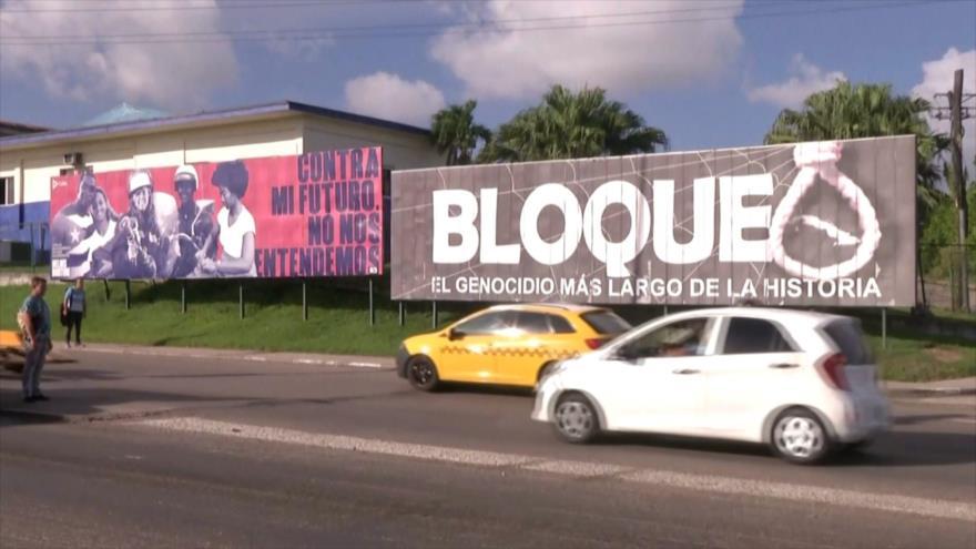 Cuba no dejará de denunciar el bloqueo estadounidense contra la isla