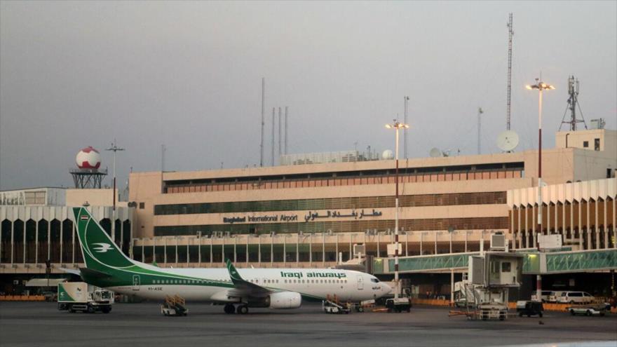 Cohetes caen cerca de aeropuerto de Bagdad que aloja a fuerzas de EEUU