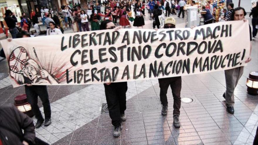 Mapuches denuncian situación de riesgo de su líder encarcelado | HISPANTV