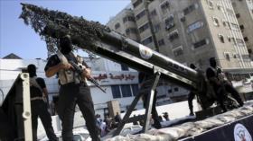 HAMAS, listo para afrontar a Israel con misiles y resistencia