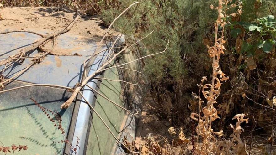 Fotos: Cazas iraquíes destruyen vehículos de terroristas de Daesh   HISPANTV