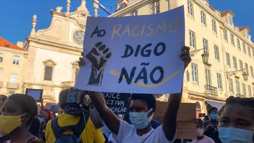 Protestan en Portugal contra racismo por asesinato de un guineano