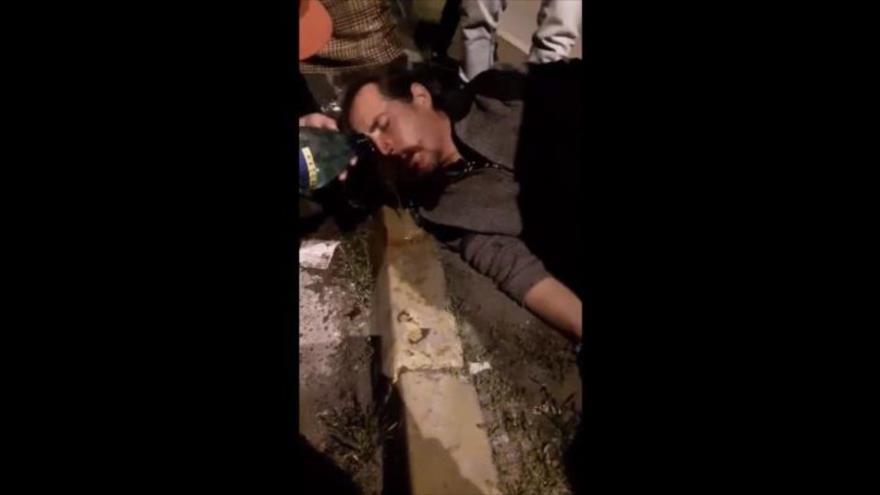 Carabineros de Chile disparan a la cara de manifestantes en calles