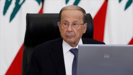 Aoun promete que El Líbano hará frente a toda agresión enemiga