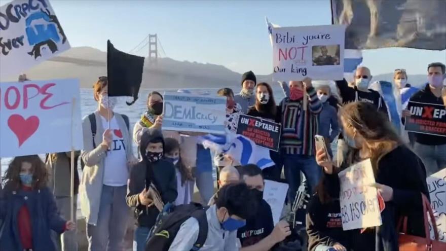 Vídeo: Protestas contra Netanyahu se extienden a EEUU y Europa | HISPANTV