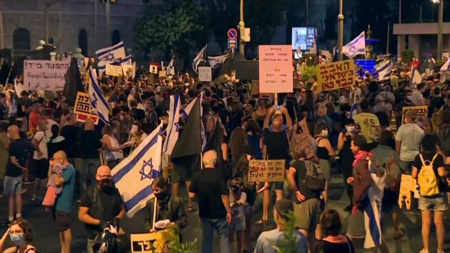 EEUU apoya a terrorismo. Protesta anti-Netanyahu . Irán-Venezuela - Boletín: 21:30 - 01/08/2020